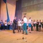 Ярцева Едизавета получает Диплом за II место