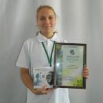 Ярцева Елизавета-призёр Всероссийского съезда школьных лесничеств
