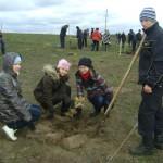 участие школьников Липецкой области в проекте Возродим наш лес